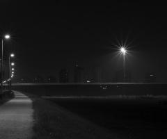 In night