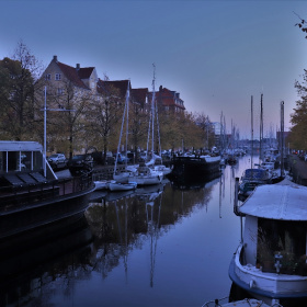 October Morning In Christianshavn - Copenhagen