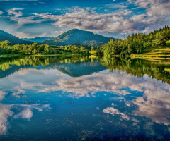 mauntain lake