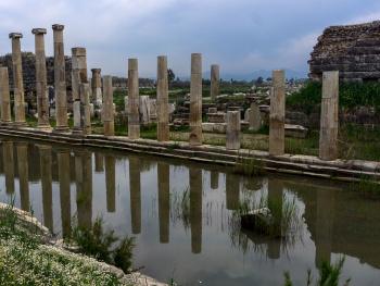 Magnesia antik kenti.Ortaklar/AYDIN.