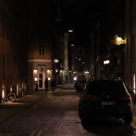 Streets Of Copenhagen - By Night 3