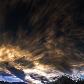 Sunset Over Tucson Arizona