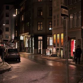 Streets If Copenhagen - By Night 6