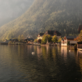Misty morning, Hallstatt