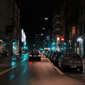 Streets Of Copenhagen - By Night 7