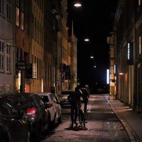 Streets Of Copenhagen - By Night 8