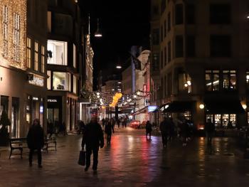 Streets Of Copenhagen By Night 11