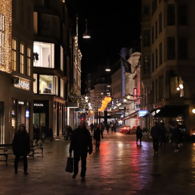 Streets Of Copenhagen By Night 11