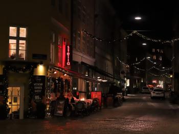 Streets Of Copenhagen By Night 12