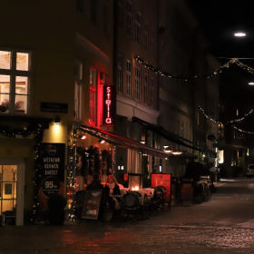 Streets Of Copenhagen By Night 12