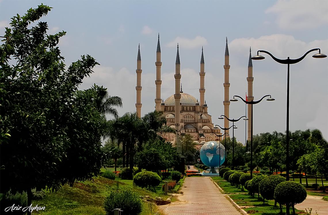 Hayırlı Cumalar. Sabancı Merkez Camii / Adana