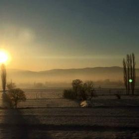 Hayırlı Sabahlar evimin penceresinden