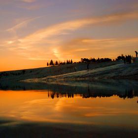 Pamukkale & Günbatımı