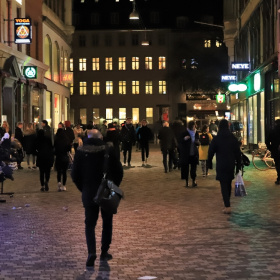 Streets Of Copenhagen By Night 33