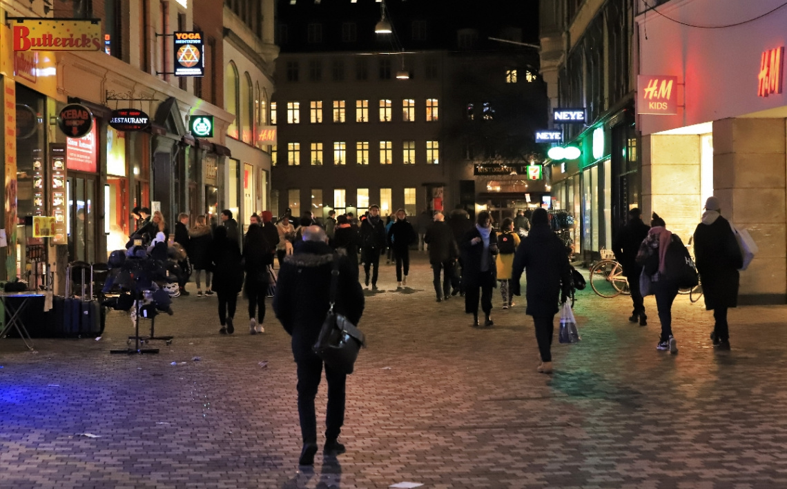 Streets Of Copenhagen By Night 33
