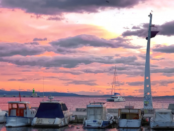 City Port Sunset