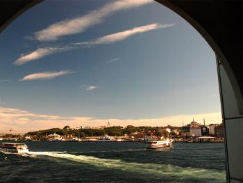 Galata Köprüsü'nden...