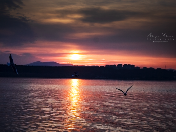 Çanakkale gün batımı