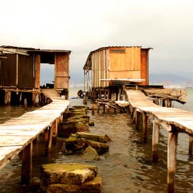 Balıkçı Barakaları...