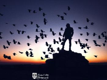 Yüreğinden Beyaz Kuşlar Uçardı Yüreğime...