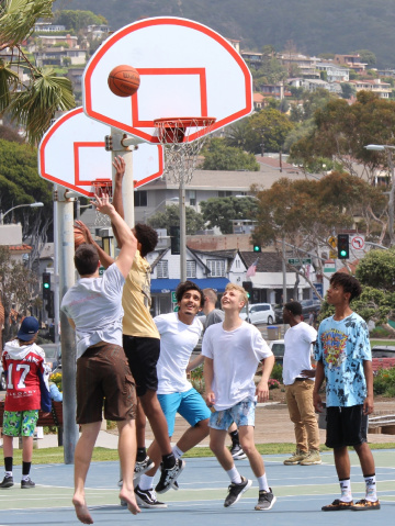 B Ball at the Beach