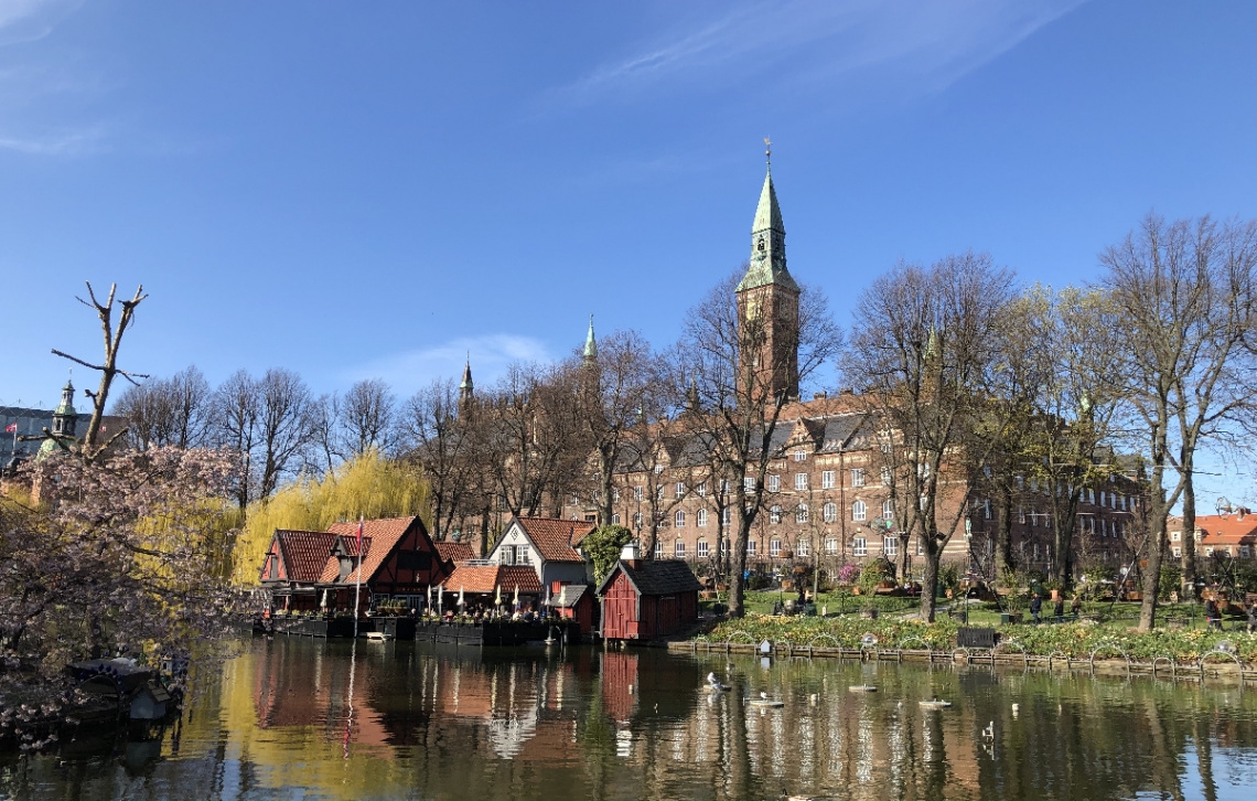 View From Tivoli - Copenhagen - Denmark