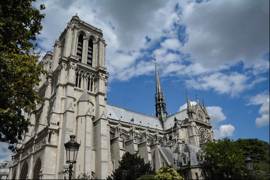 Notre Dame Katedrali   Paris, Fransa