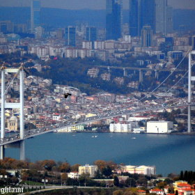 A view On Istanbul Bridge