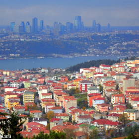 the two sides of Istanbul