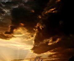 Buluttaki kurt figürü