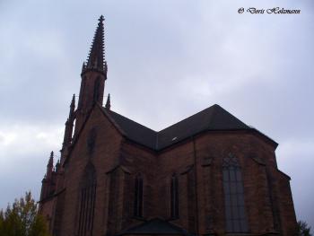 Evangelische Stadtkirche Offenburg / Germany