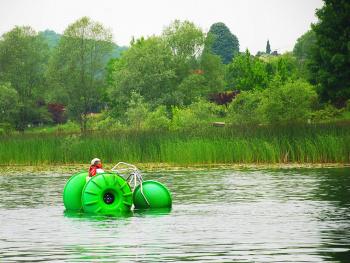Sapanca Gölünde...