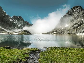 Buzul Gölü.3100 mt.Güney Kaçkarlar.