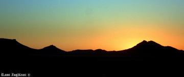The beatiful sunrise at dawn