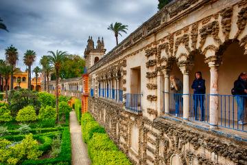 Alcazar Sarayı - Sevilla