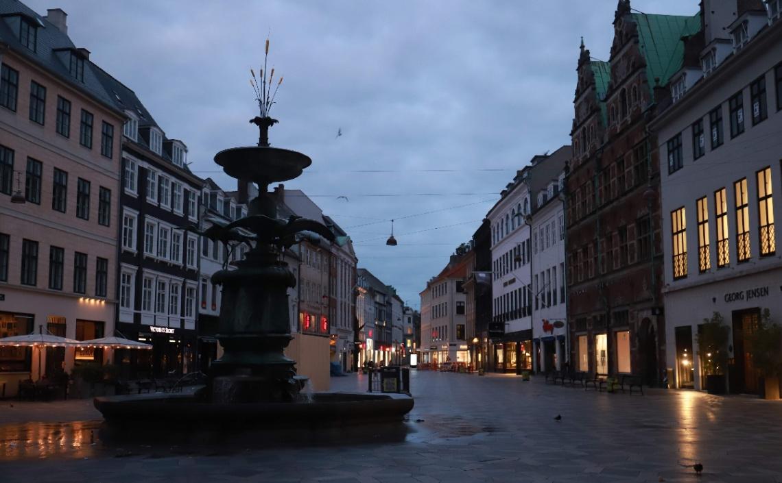 Morning At Strøget - Copenhagen