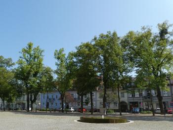 Schlossplatz Karlsruhe-Durlach / Deutschland