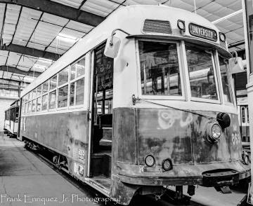 An Old Rail Bus