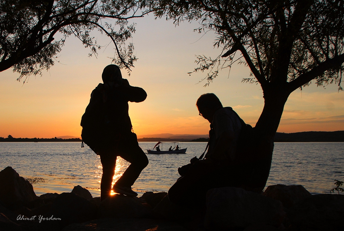 Gölyazı-Gün Batımı