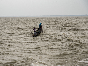 Fisher man of the River Meghna