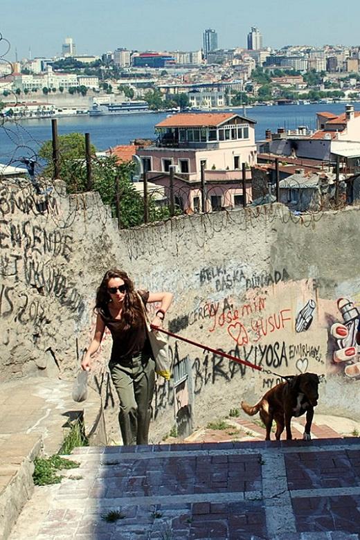 İstanbul & Köpekli Kız