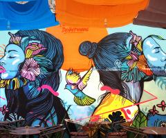Balat'ta Sokak Grafiti...