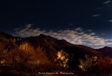 LAST NIGHTS MOONRISE FROM TUCSON ARIZONA
