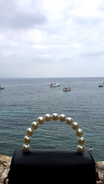 pearls by the sea