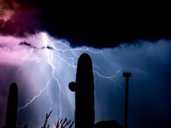 Arizona Monsoon Lightnings