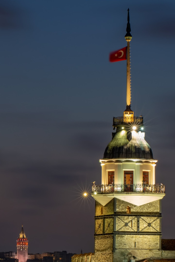 Maiden's Tower, Bosphorus
