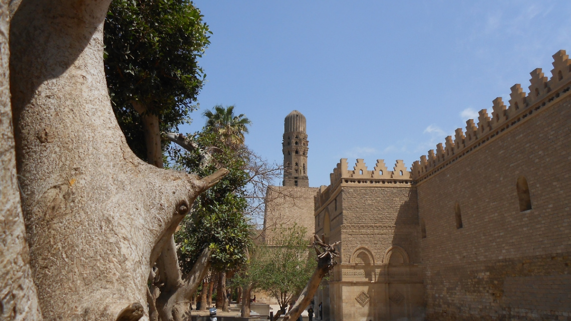 Egypt  - Cairo - ALHAKIM BEAMR aLLAH Mosque