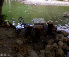 Lunch at the river side / holidays in Algeria 2019