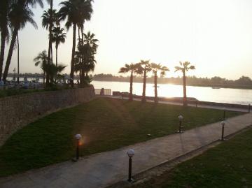 Egypt - Luxor - sunset