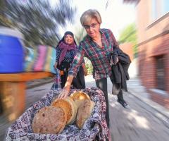Taze taze, mis gibi kokan ev yapımı ekmekler!